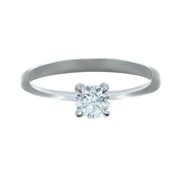 0.40CT, F, VSS2 Icon Setting Diamond Ring
