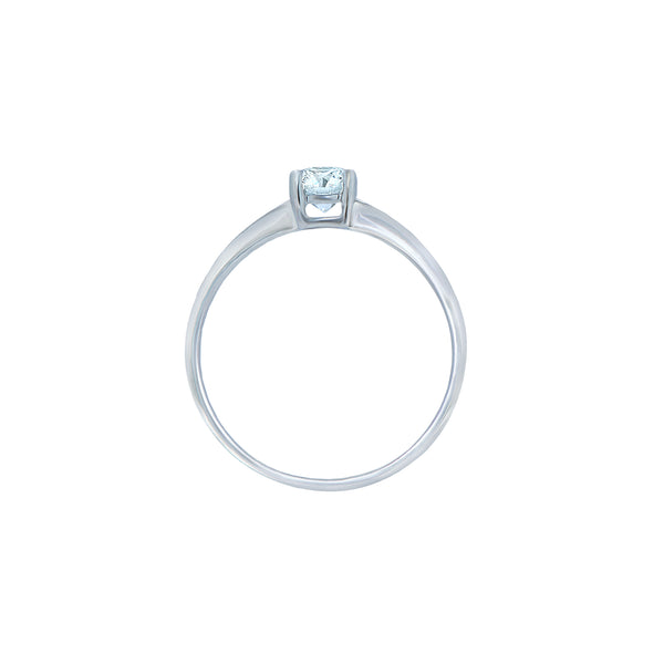 0.50CT, E, VVS2 Icon Engagement Ring
