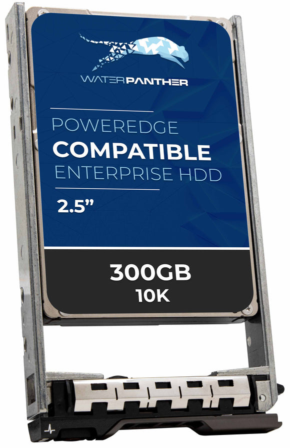300GB 10K RPM SAS 12Gbps 2.5 Hard Drive
