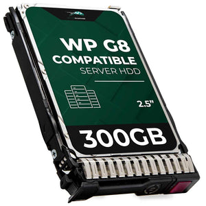 300GB 15K RPM SAS 6Gbps 2.5 Hard Drive