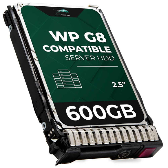 600GB 15K RPM SAS 6Gbps 2.5 Hard Drive