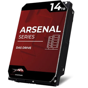 "Refurbished: WP Arsenal 14TB SAS 12Gb/s 7200RPM 3.5"" DAS HDD"