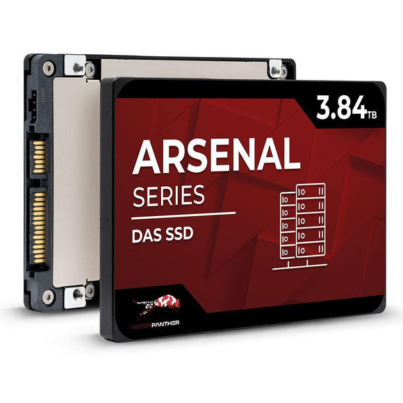 3.84TB Arsenal SATA 6Gb/s 2.5 DAS SSD