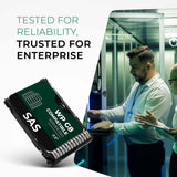 "6.4TB 3D TLC SAS 12Gb/s 2.5"" SSD for HPE ProLiant Servers 