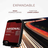 arsenal das hdd info 2