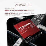 "WP Arsenal 12TB SATA 6Gb/s 7200RPM 3.5"" DAS HDD - Water Panther"