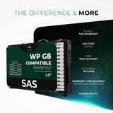 "800GB 3D MLC SAS 12Gb/s 2.5"" SSD for HPE ProLiant Servers 