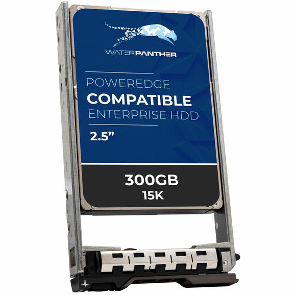 300GB 15K RPM SAS 12Gbps 2.5 Hard Drive