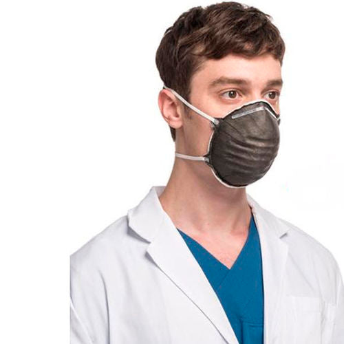 How does polypropylene in n95 masks prevent the spread of covid-19?