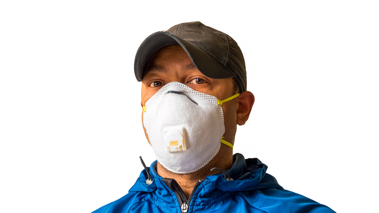 How effective are N95 masks when around non-mask wearers?