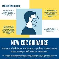 What are the CDC's guidelines for surgical masks?