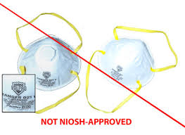 How to identify counterfeit N95 masks?