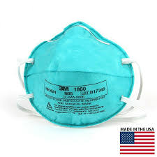Which is more effective: N95 mask or 1860 mask?