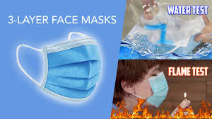 How to perform the fire test on your surgical mask?