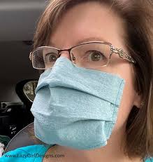 Can you fix the broken straps of your surgical mask?