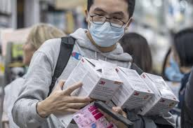 How the surge of covid has led to a shortage of N95 masks