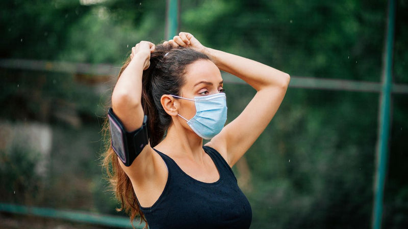 Why you should be wearing a surgical masks while working out
