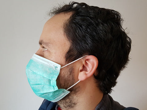 How to prevent surgical masks from creating acne on the face