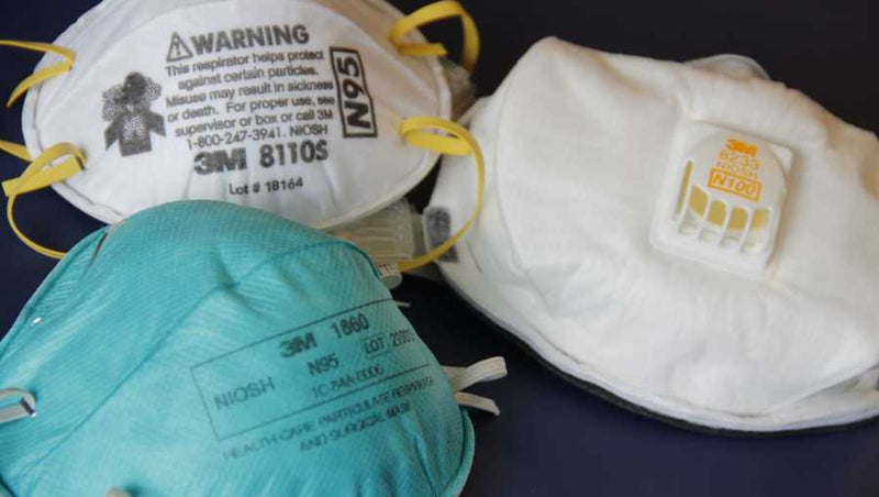 Do the CDC and NIOSH have similar guidelines for N95 masks?