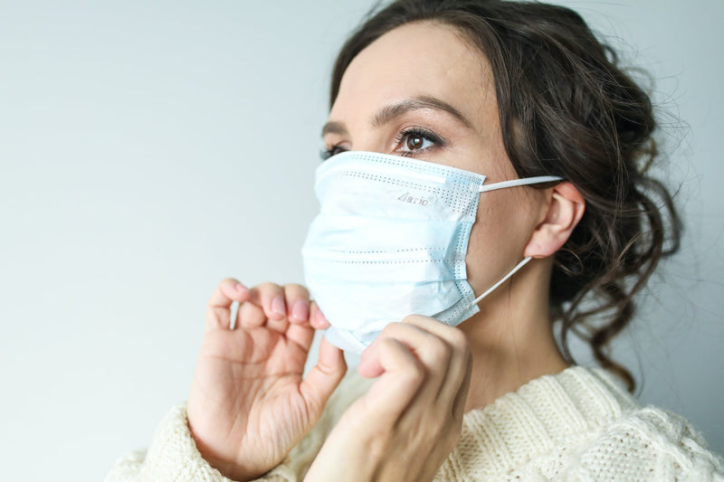 Will reusing your surgical mask cause acne?