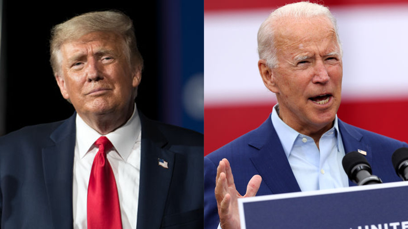 Trump verus Biden on N95 respirators