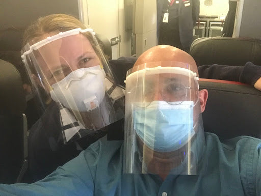 Should N95 masks be worn on airplanes?
