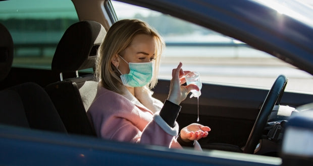 Should you wear a mask while driving?