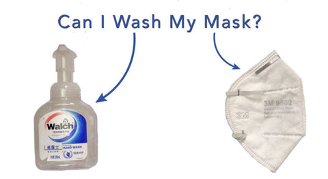 Washing N95 mask
