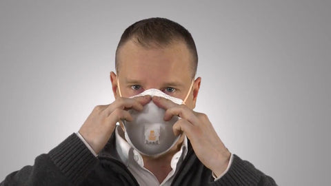 How to wear a 3M N95 mask