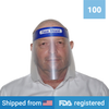 Face Shield <br> (100 Shields) <br> IN STOCK - Clinical Supplies USA