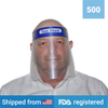 Face Shield <br> (500 Shields) <br> IN STOCK - Clinical Supplies USA