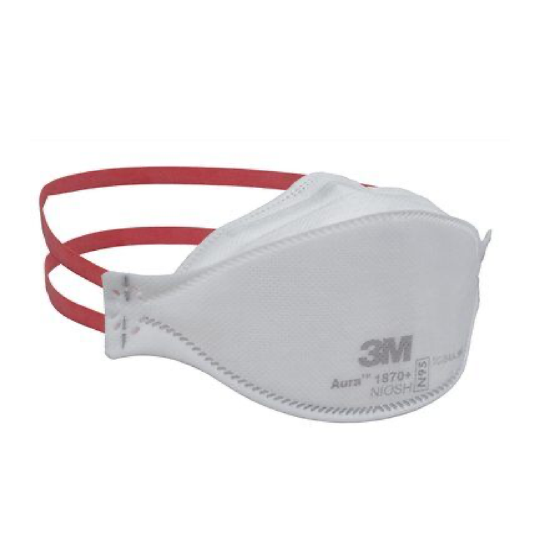 3M 1870+ mask | surgical N95 mask x 440 | NIOSH - Clinical Supplies USA