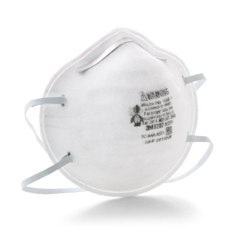 3M 8200 mask | N95 mask x 20 | NIOSH - Clinical Supplies USA