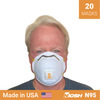 3M 8511 respirator <br> N95 respirator x 20 <br> NIOSH - Clinical Supplies USA