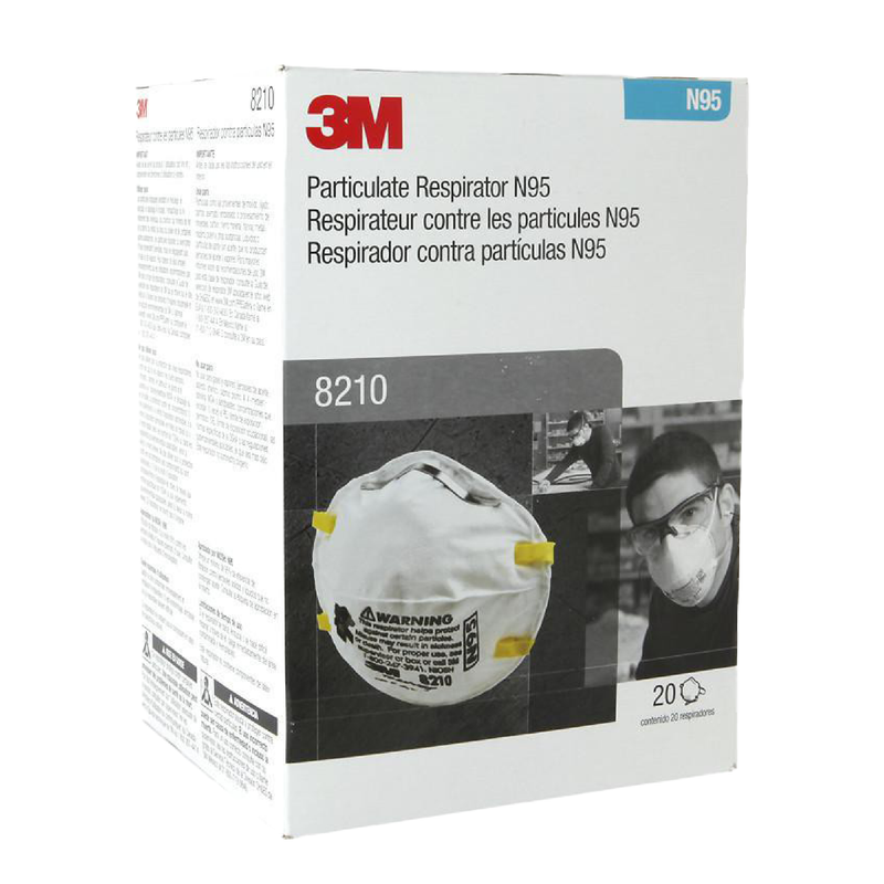 3M 8210 mask | N95 mask x 40 | NIOSH - Clinical Supplies USA