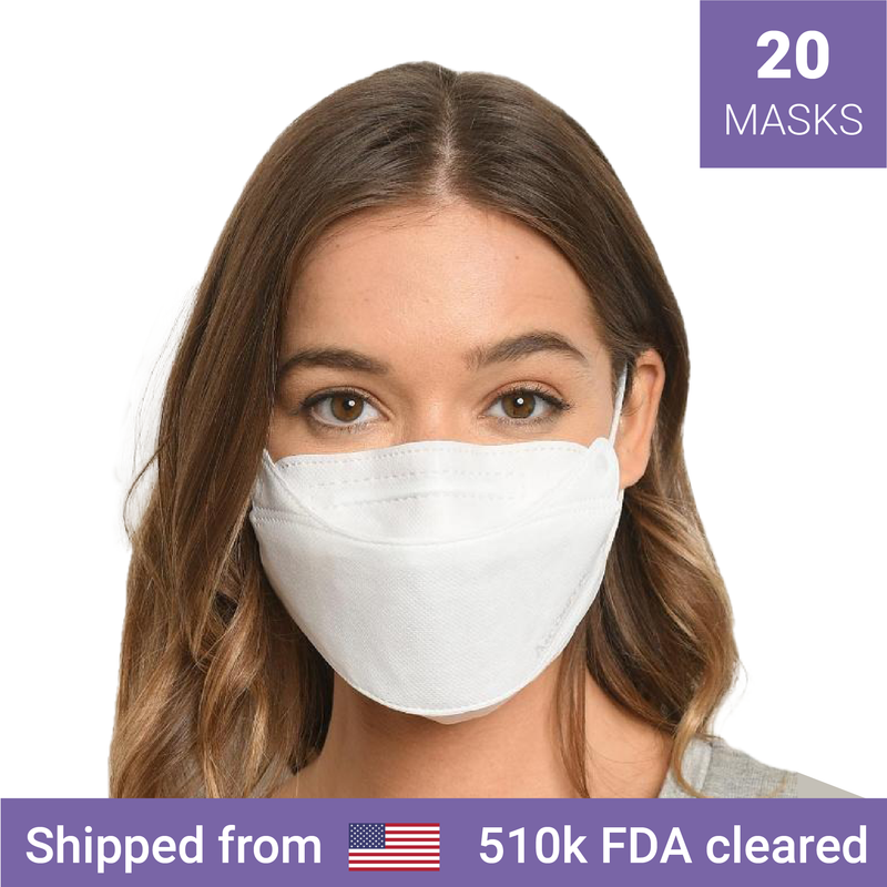 20x Air Queen KF94 nano masks | FDA 510k cleared - Clinical Supplies USA