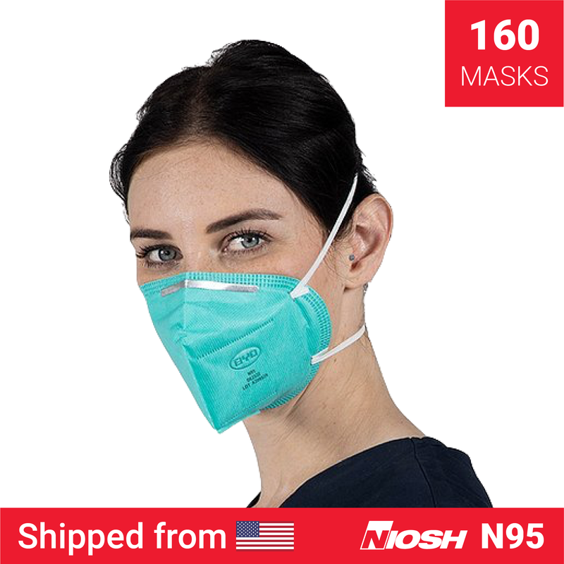 BYD N95 mask | N95 mask x 160 | NIOSH - Clinical Supplies USA
