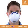 Drager X-plore 1350 mask <br> N95 respirator x 20 <br> NIOSH - Clinical Supplies USA