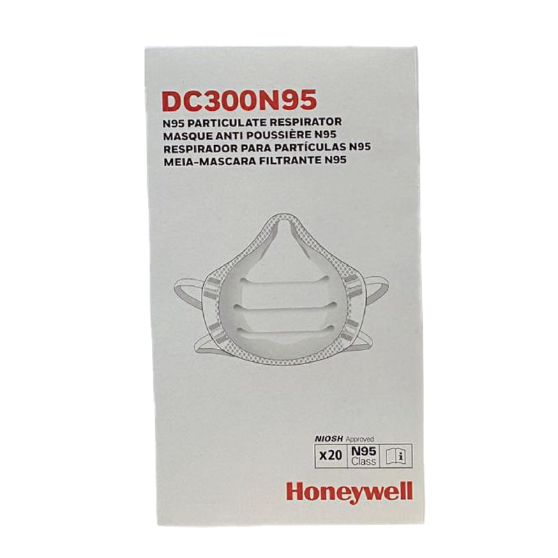 Honeywell DC300 N95 mask | N95 mask x 160 | NIOSH - Clinical Supplies USA