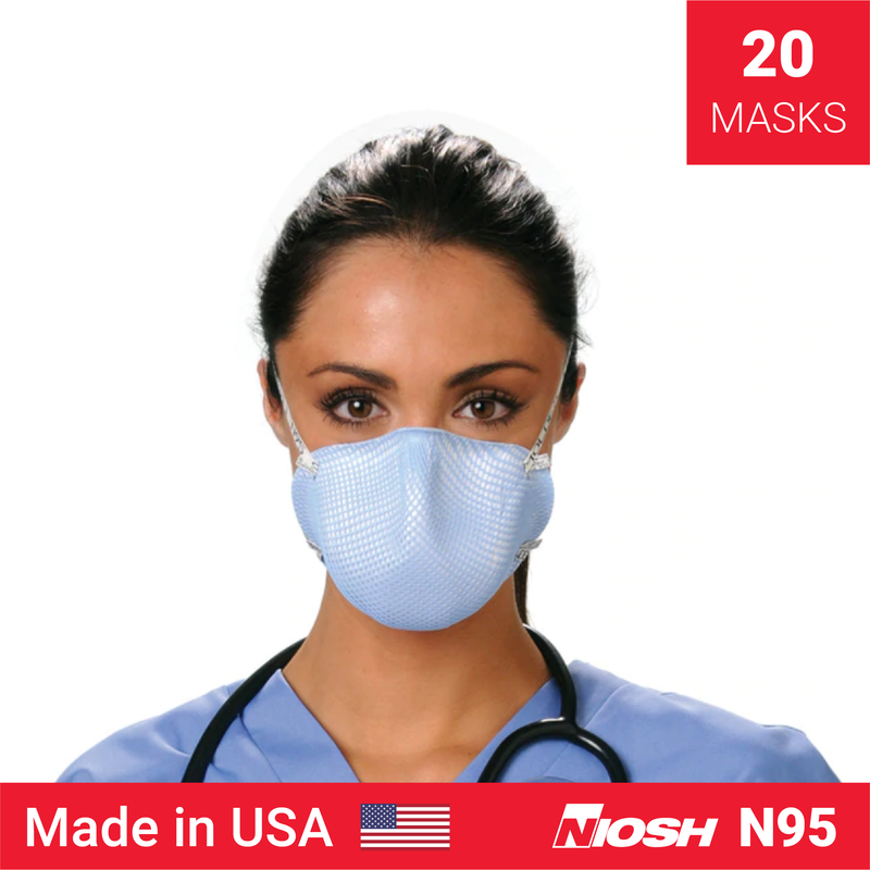 Moldex 1512 medium sized mask | N95 mask x 20 | NIOSH - Clinical Supplies USA