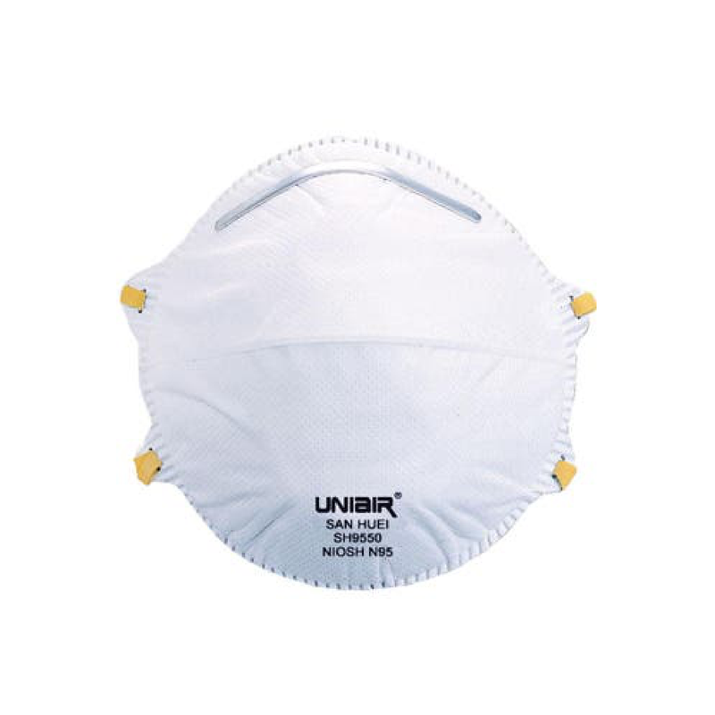 UNIAIR SH9550 | N95 mask NIOSH x 20 - Clinical Supplies USA