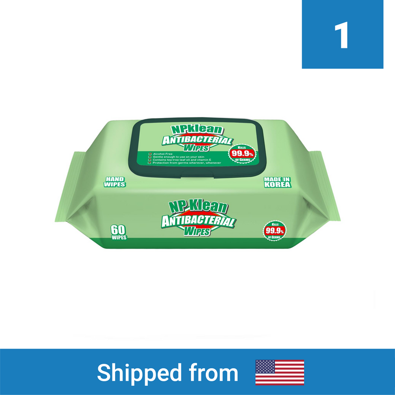 Antibacterial Wipes - Clinical Supplies USA
