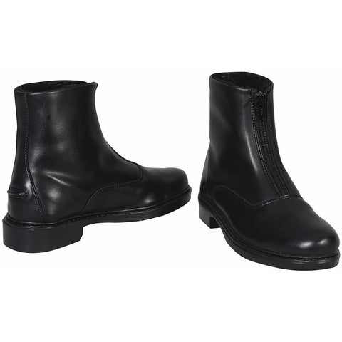TUFFRIDER CHILDS STARTER WINTER FLEECE-LINED FRONT ZIP PADDOCK BOOTS