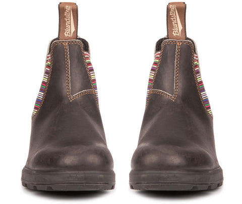 Blundstone 1409- Original Stout Brown with Striped Elastic