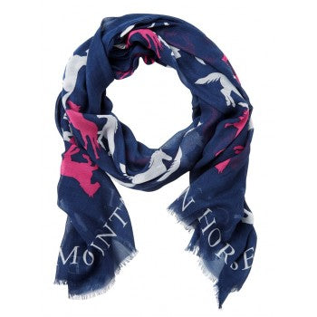 MOUNTAIN HORSE LADIES RUNNING HORSE SCARF