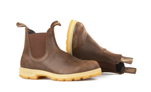 Blundstone 1946 - Leather Lined Classic Antique Brown Two-Tone Sole