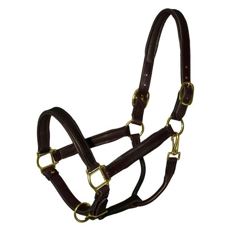 Bromont Deluxe Padded Leather Halter
