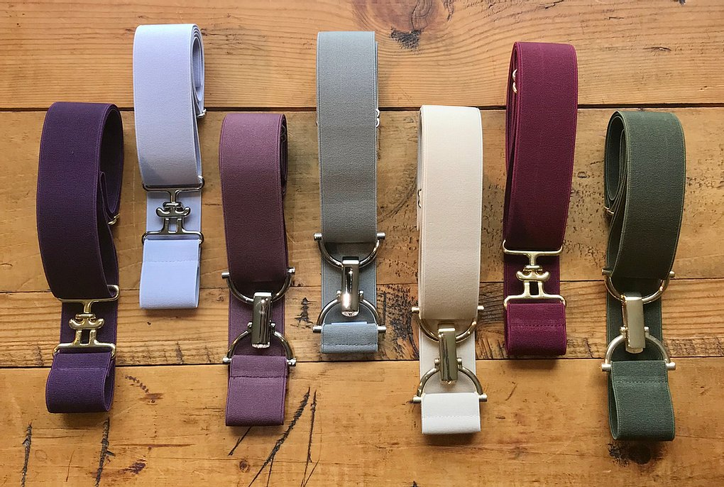 Bedford-Jones Belts - 1.5 Inch Solids Collection
