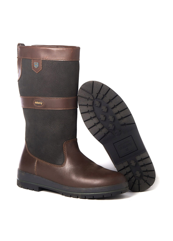 Dubarry Kildare Country Boot - Black/Brown