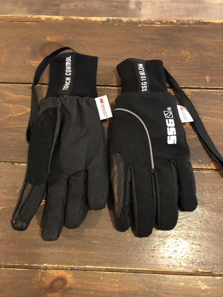 SSG #6400 10 BELOW WATERPROOF GLOVES - BLACK
